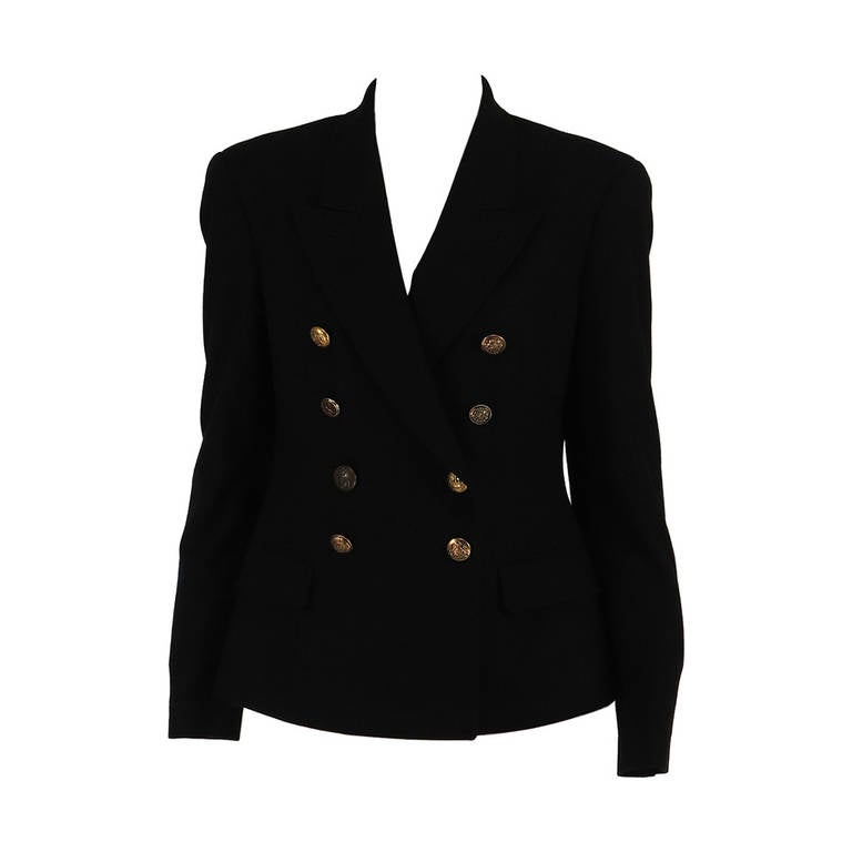 Paul Smith Classic navy blue double breasted blazer 1