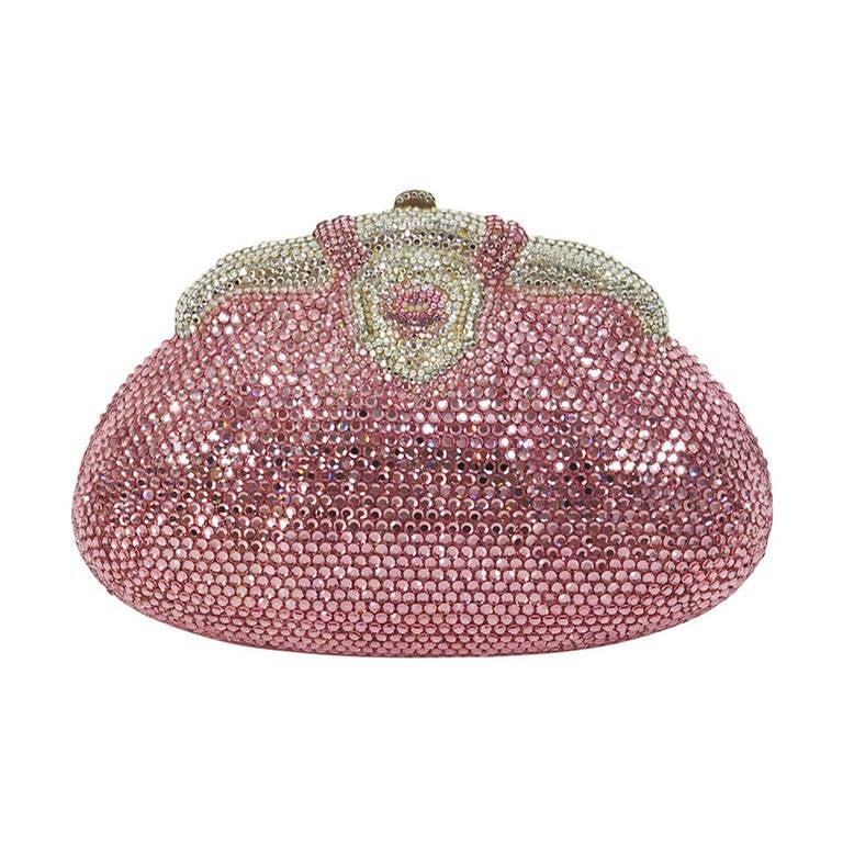 Pink crystal evening bag finesse la model at 1stdibs - Mobeldesigner italien ...