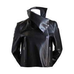 CELINE by PHOEBE PHILO black leather jacket