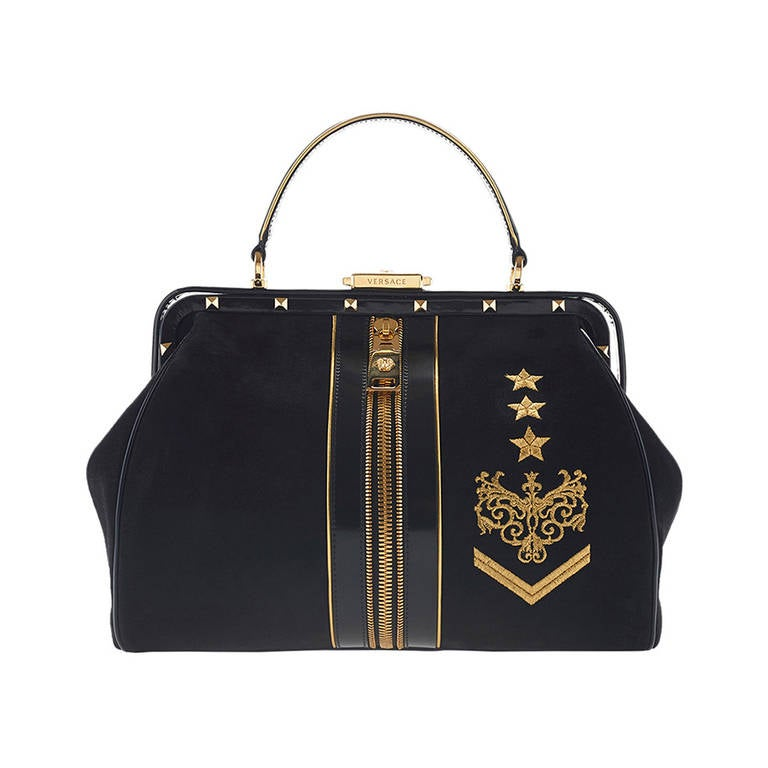 New VERSACE Zippered Doctor Bag 1