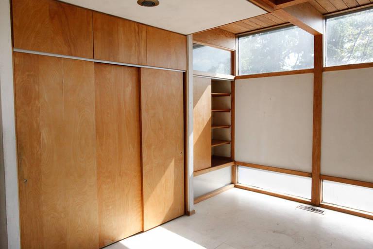Glass Mid-Century Modern Eames-Style Box House by Architect Mitsu Otsuji, .9 Acres