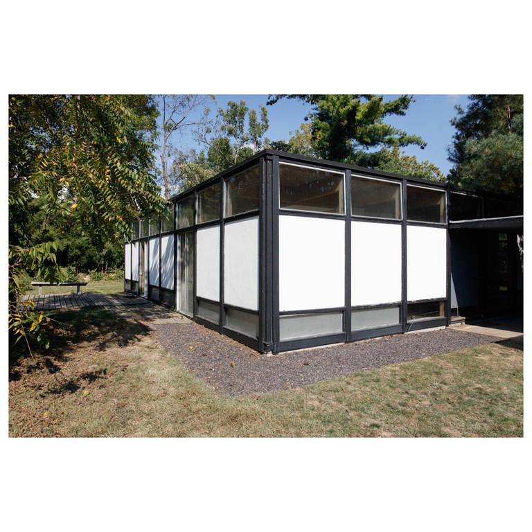 Mid-Century Modern Eames-Style Box House by Architect Mitsu Otsuji, .9 Acres