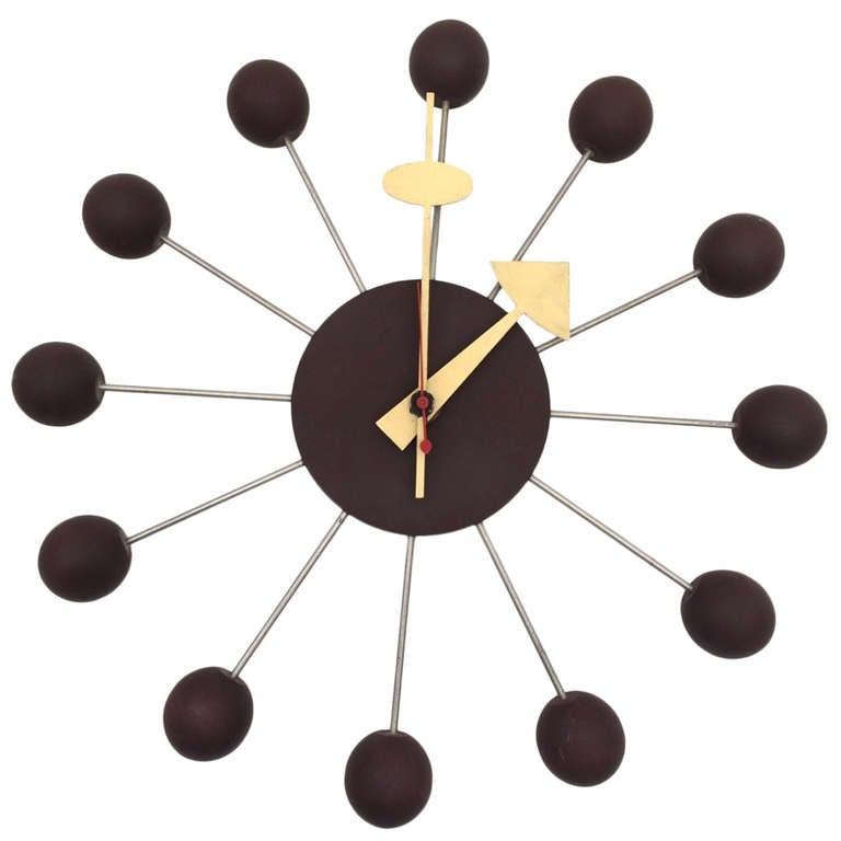 George Nelson for Howard Miller Ball Clock Model 4755 1