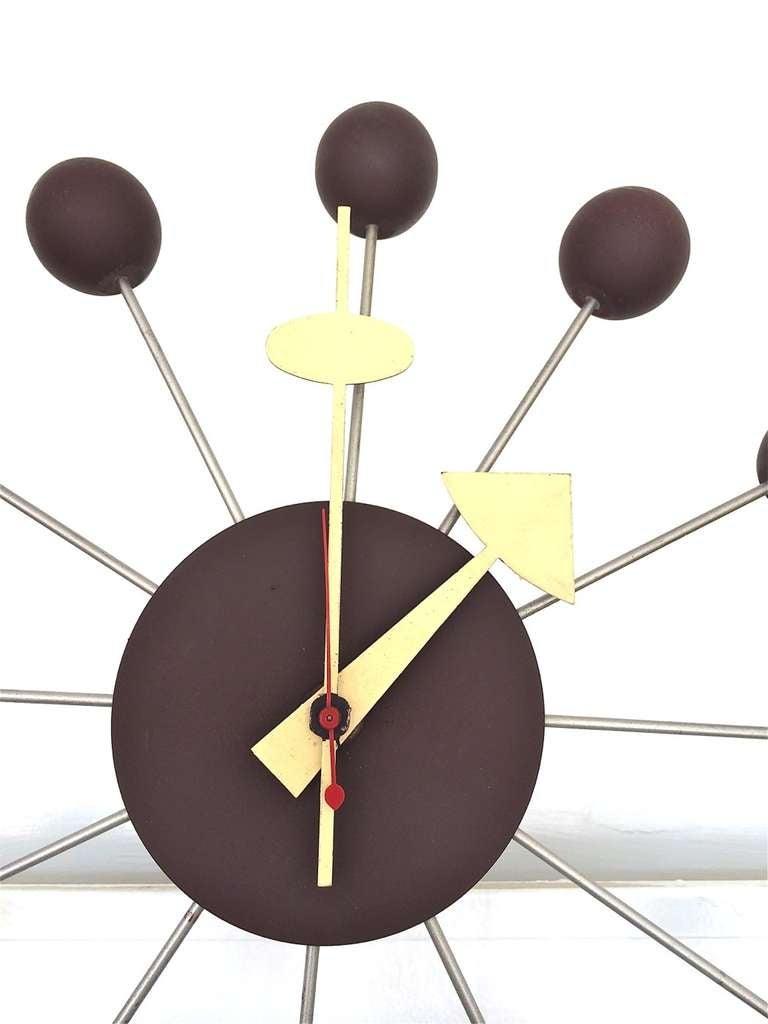 George Nelson for Howard Miller Ball Clock Model 4755 3