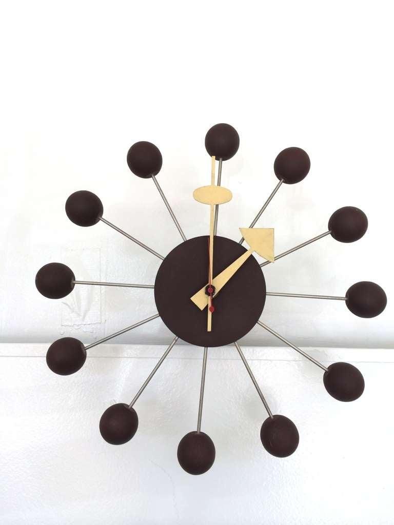 George Nelson for Howard Miller Ball Clock Model 4755 4