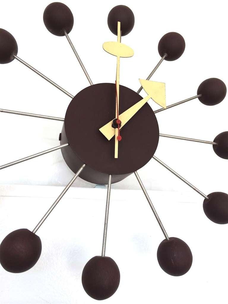 George Nelson for Howard Miller Ball Clock Model 4755 5