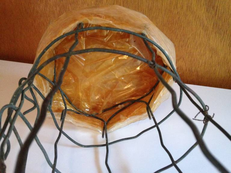 Untitled Wire Sculpture Stool by Susan Eisler For Sale 3