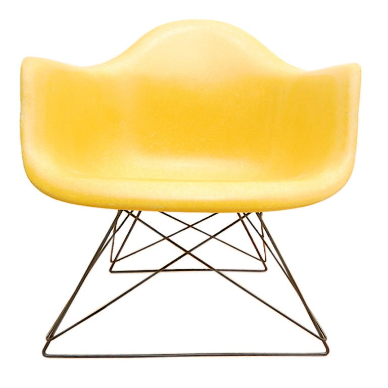 Yellow Herman Miller Eames Cat s Cradle Lounge Chair at 1stdibs