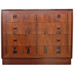 Mid-Century Danish Rosewood Drylund Dresser Cabinet