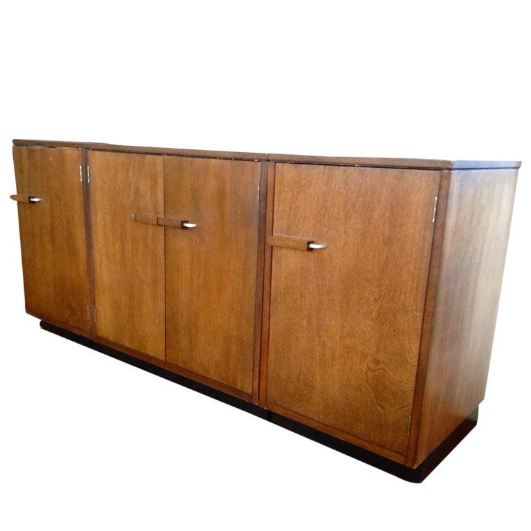 Eliel Saarinen Three Piece Credenza Cabinet At 1stdibs