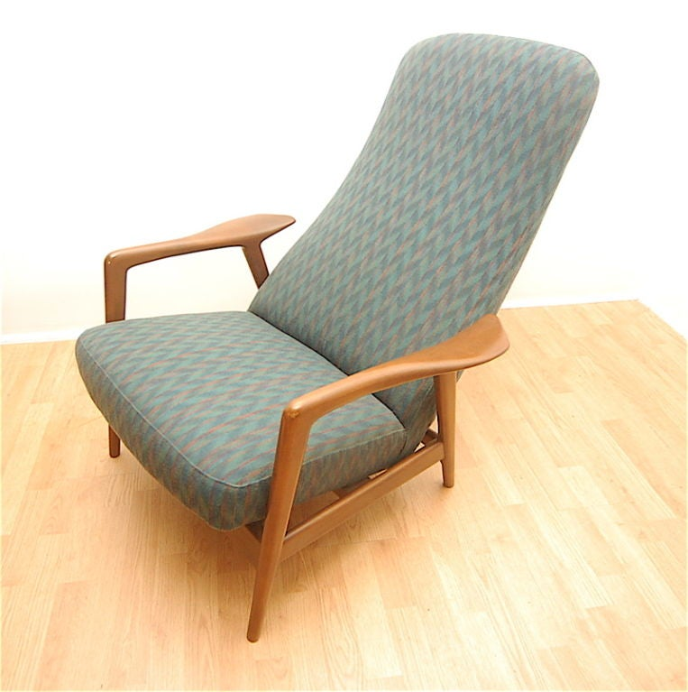 Selig danish modern lounge chair selig danish modern lounge chair