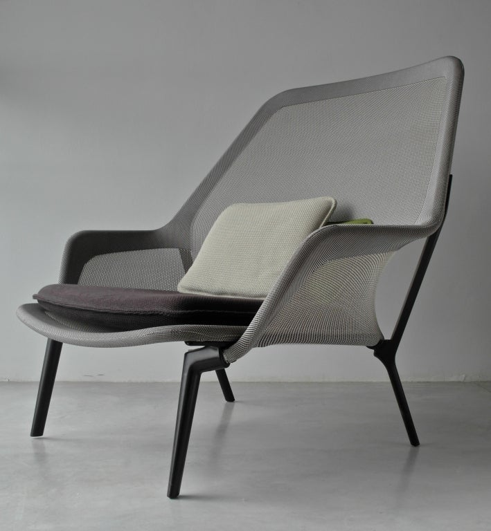 ronan and erwan bouroullec slow chair for vitra 2007 at. Black Bedroom Furniture Sets. Home Design Ideas