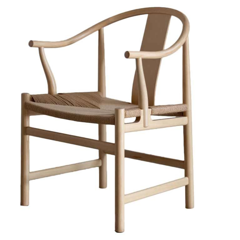 Attractive Hans Wegner Chinese Chair For PP Mobler 2