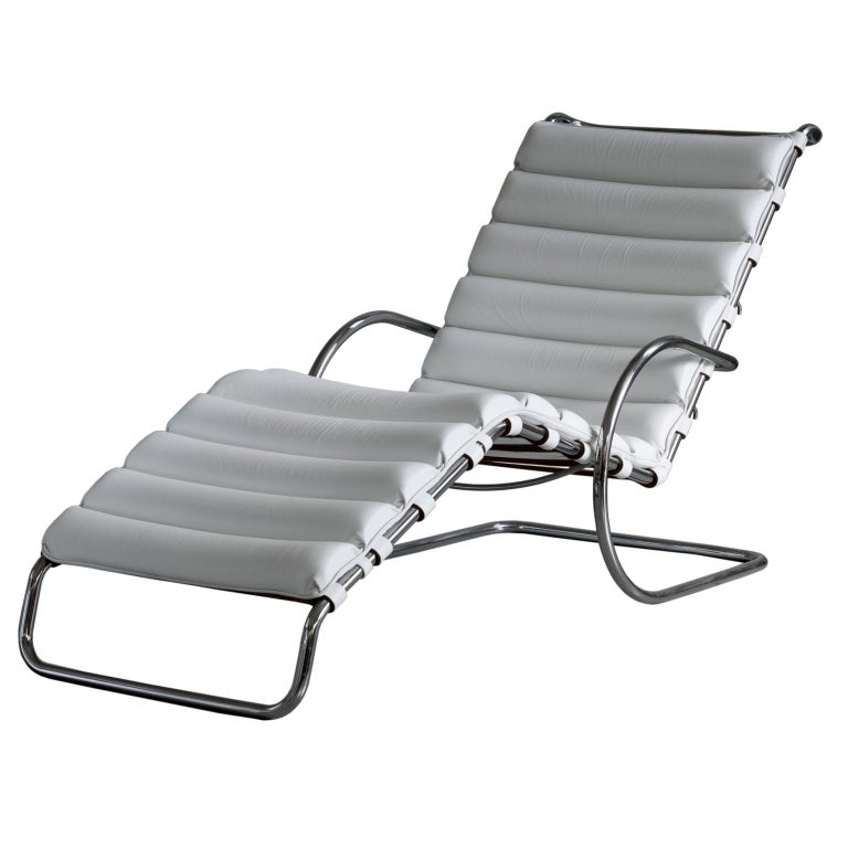 Mies Van Der Rohe Mr Chaise Lounge For Knoll For Sale At 1Stdibs