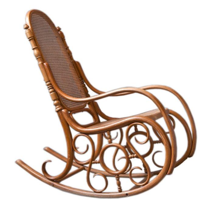 D G Fischell Bentwood Rocking Chair At 1stdibs