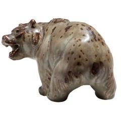 Knud Kyhn Stoneware Bear for Royal Copenhagen