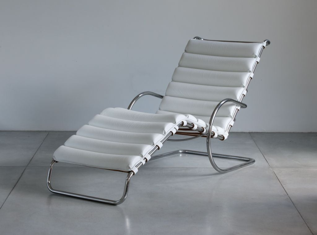 mies van der rohe mr chaise longue for knoll at 1stdibs. Black Bedroom Furniture Sets. Home Design Ideas