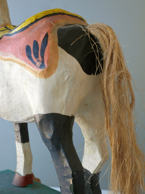 Mexican Polychrome Toy Horse image 5
