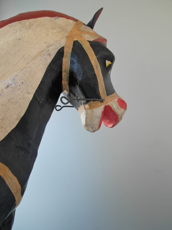 Mexican Polychrome Toy Horse image 6