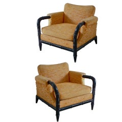 Pair Of Arturo Pani Armchairs