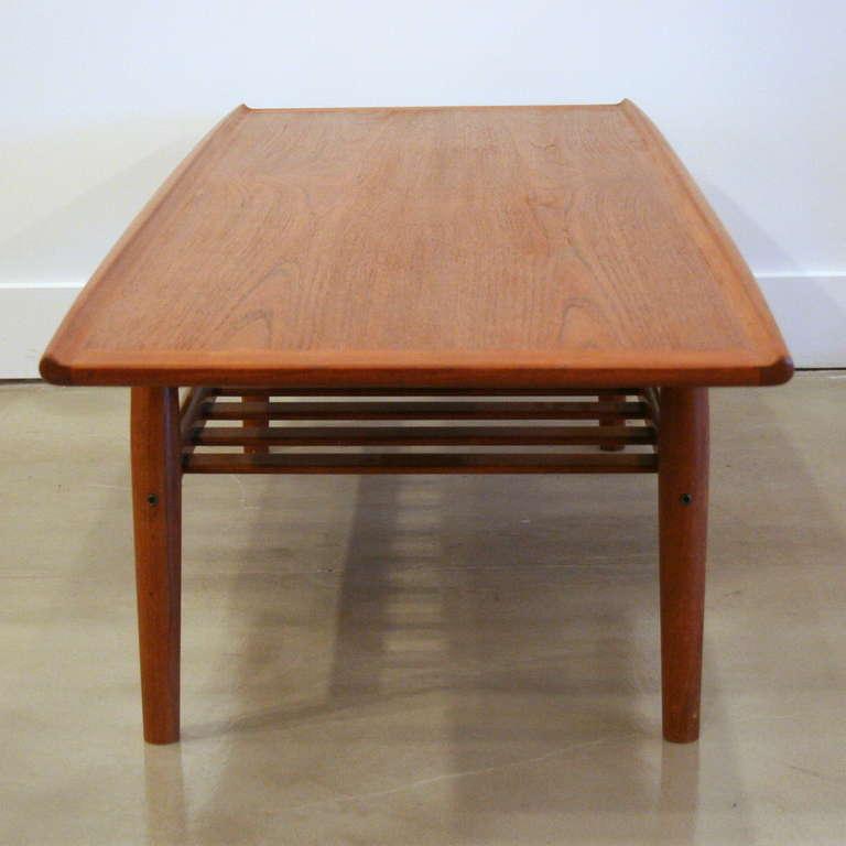 Vintage Teak Coffee Table By Grete Jalk At 1stdibs