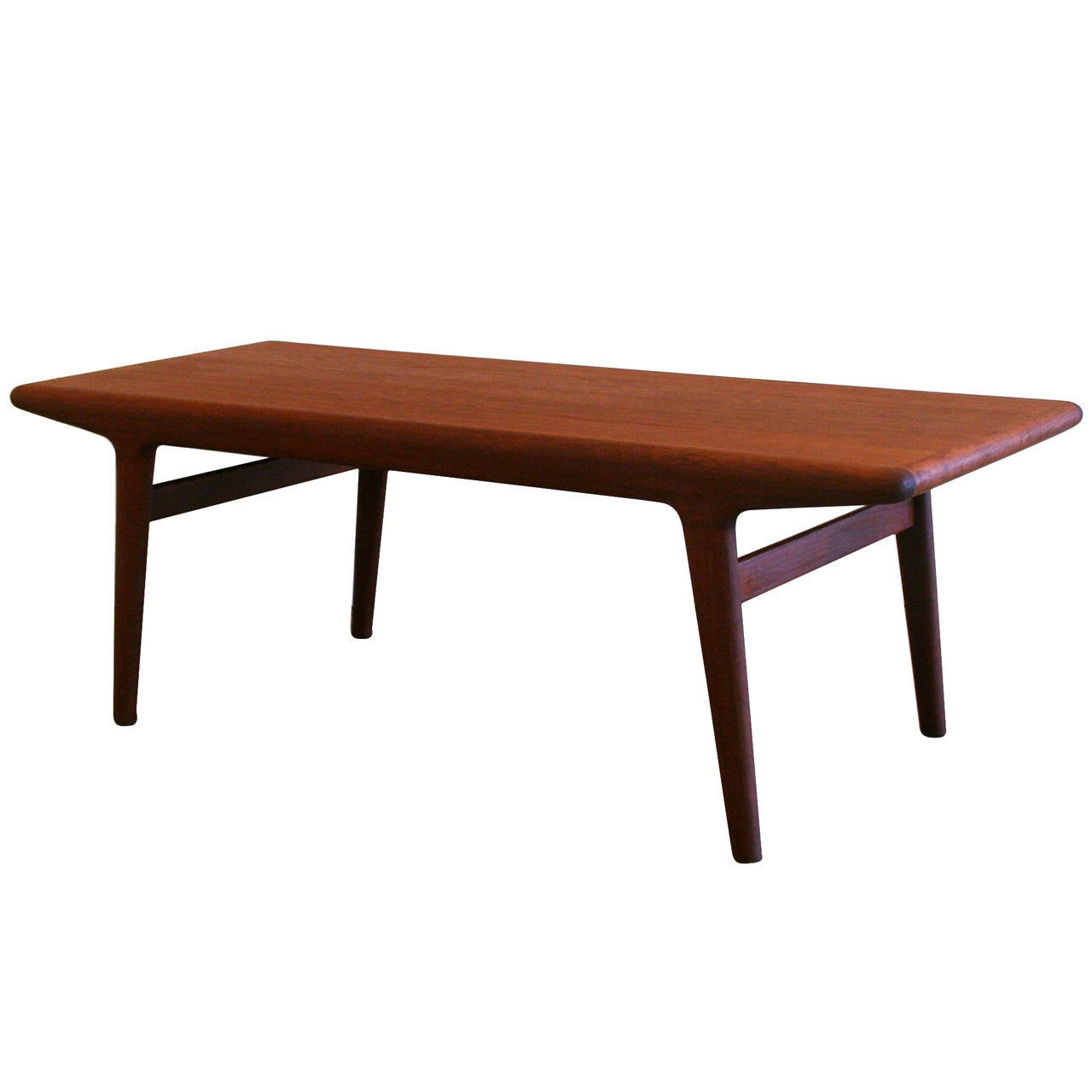 Vintage Danish Teak Coffee Table At 1stdibs