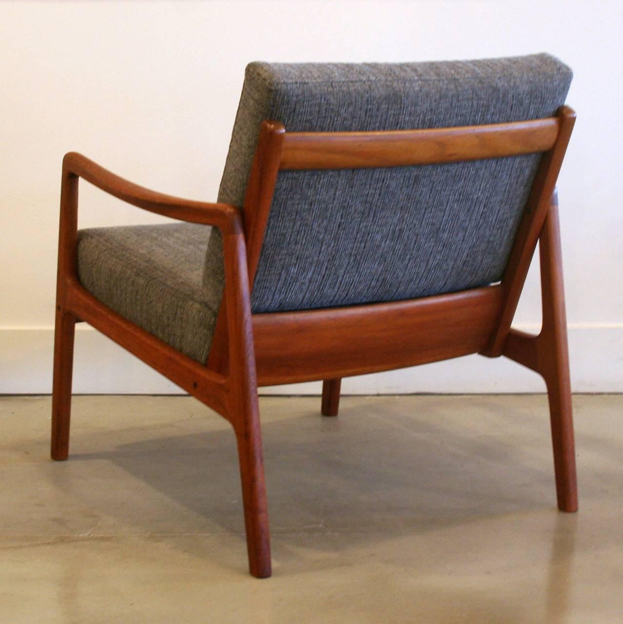 Vintage Danish Teak Lounge Chair Pair Available at 1stdibs