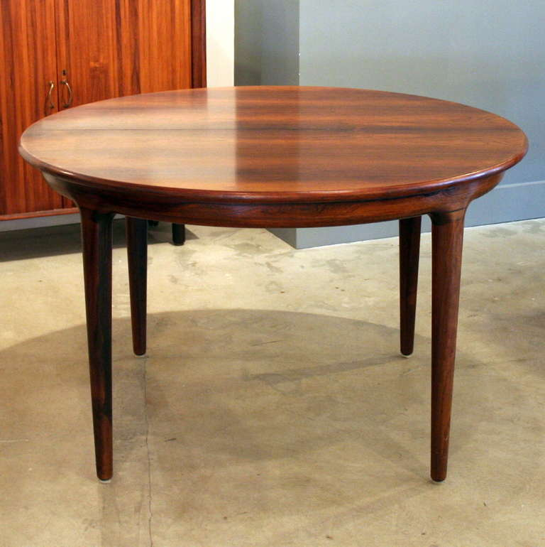 Vintage Rosewood Dining Table At 1stdibs