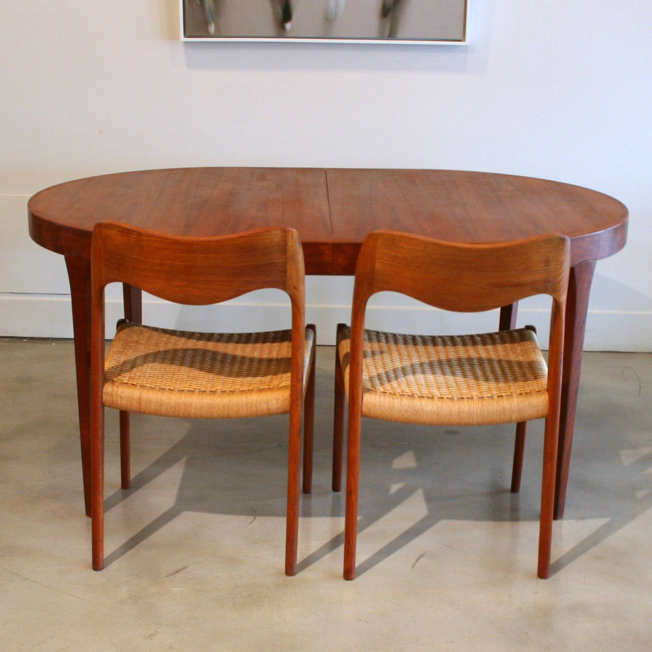 this vintage danish oval teak dining table is no longer available