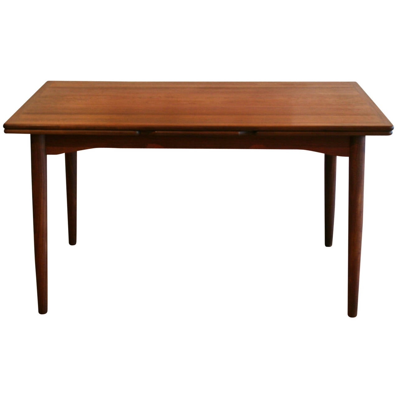 Vintage Danish Teak Dining Table At 1stdibs