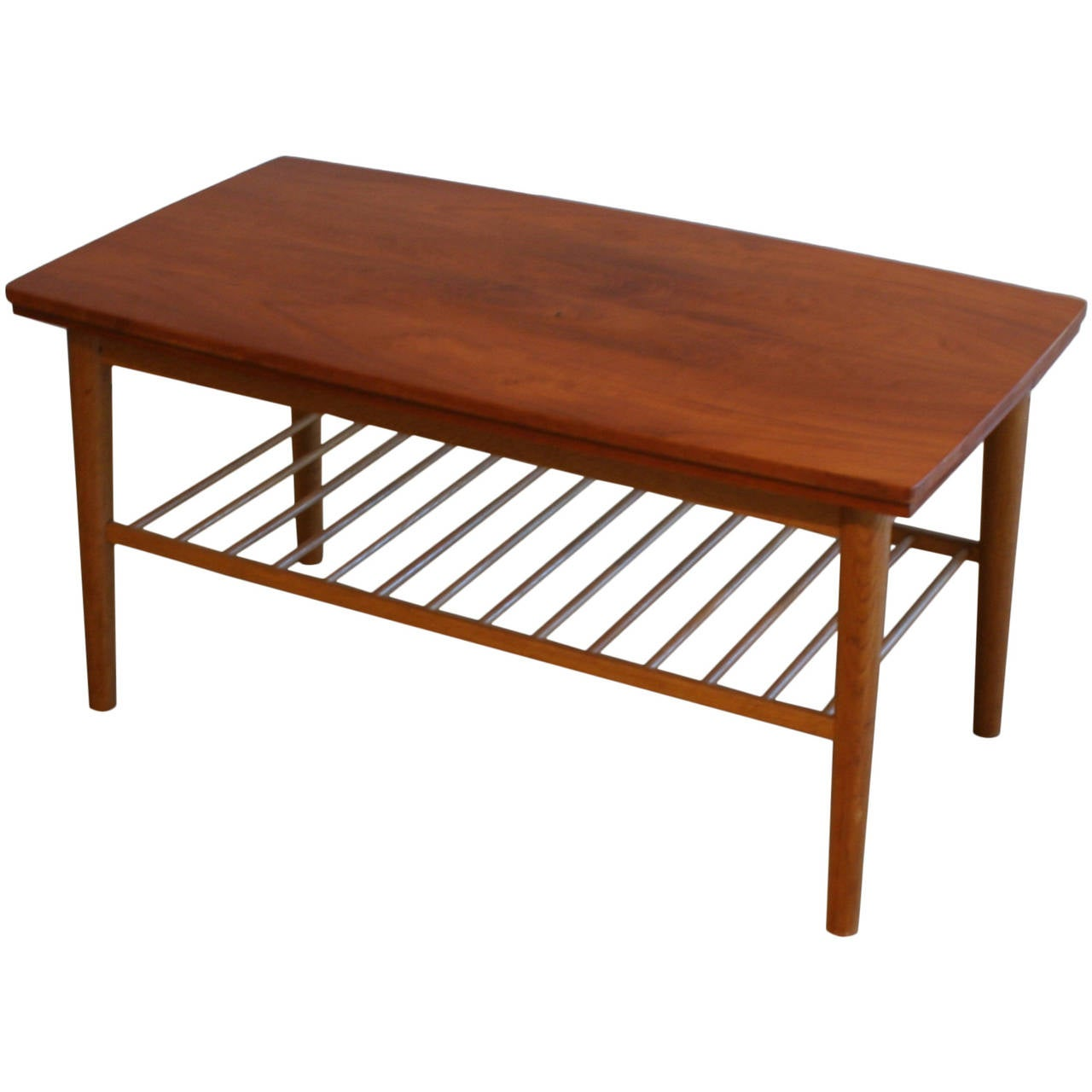 Vintage Danish Mahogany Coffee Table At 1stdibs
