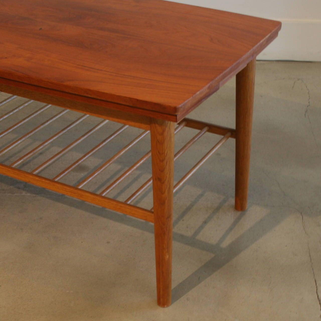 Vintage Danish Mahogany Coffee Table At 1stdibs