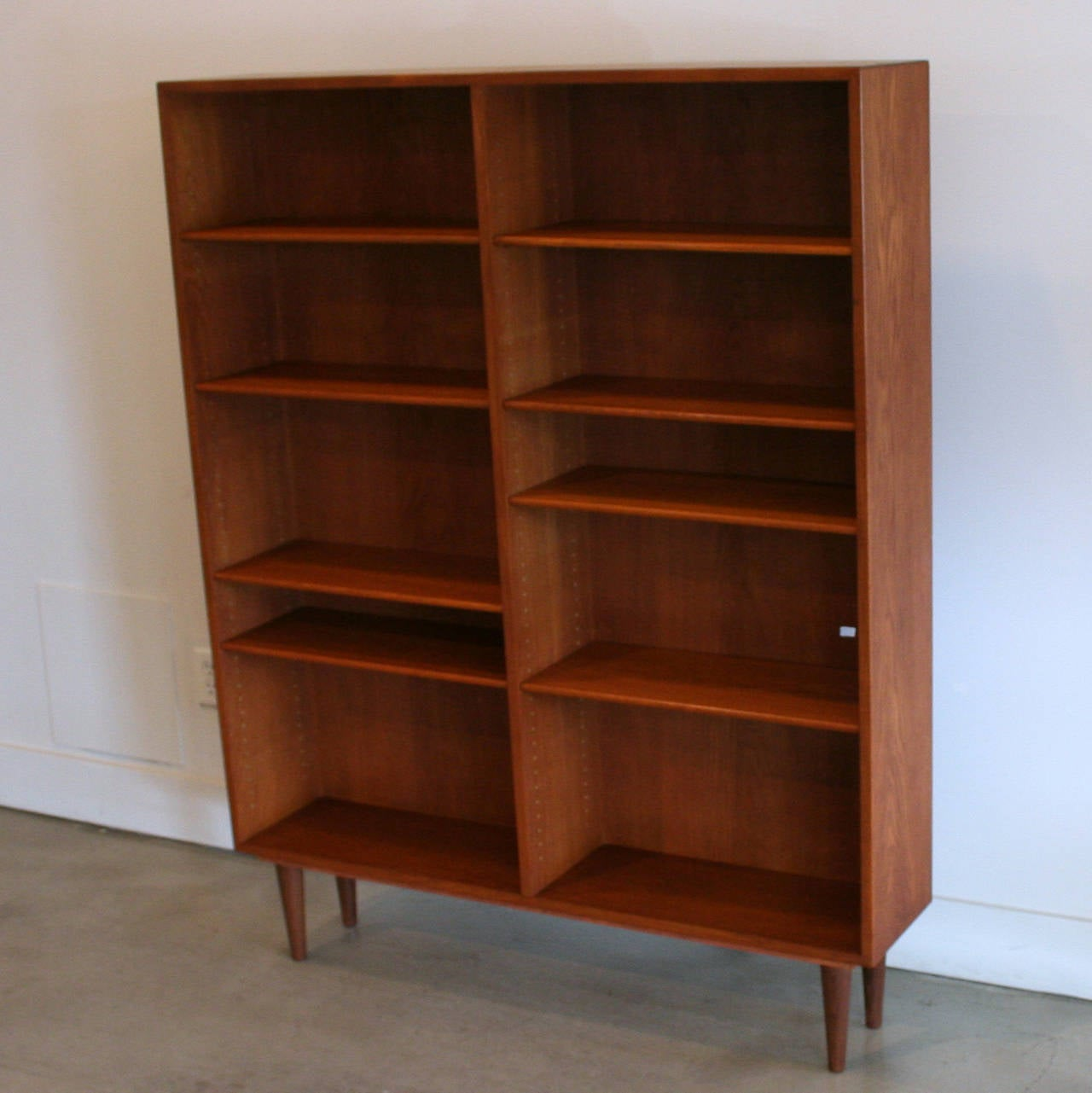 Vintage Teak Bookcase At 1stdibs