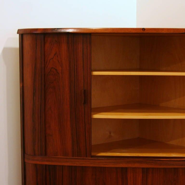 Vintage Corner Cabinet 112