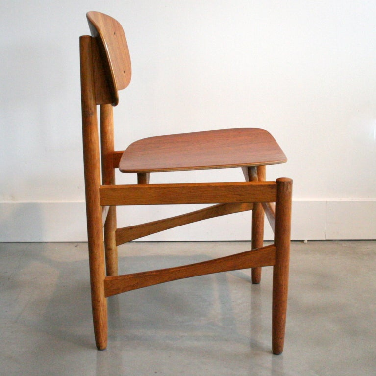 Vintage danish teak dining chairs at 1stdibs - Scandinavian teak dining room furniture ...