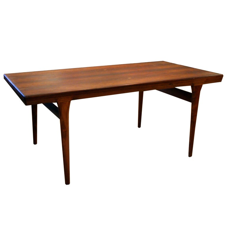 vintage danish rosewood dining table at 1stdibs