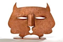 1930's Copper Cat Sculpture by Rodden