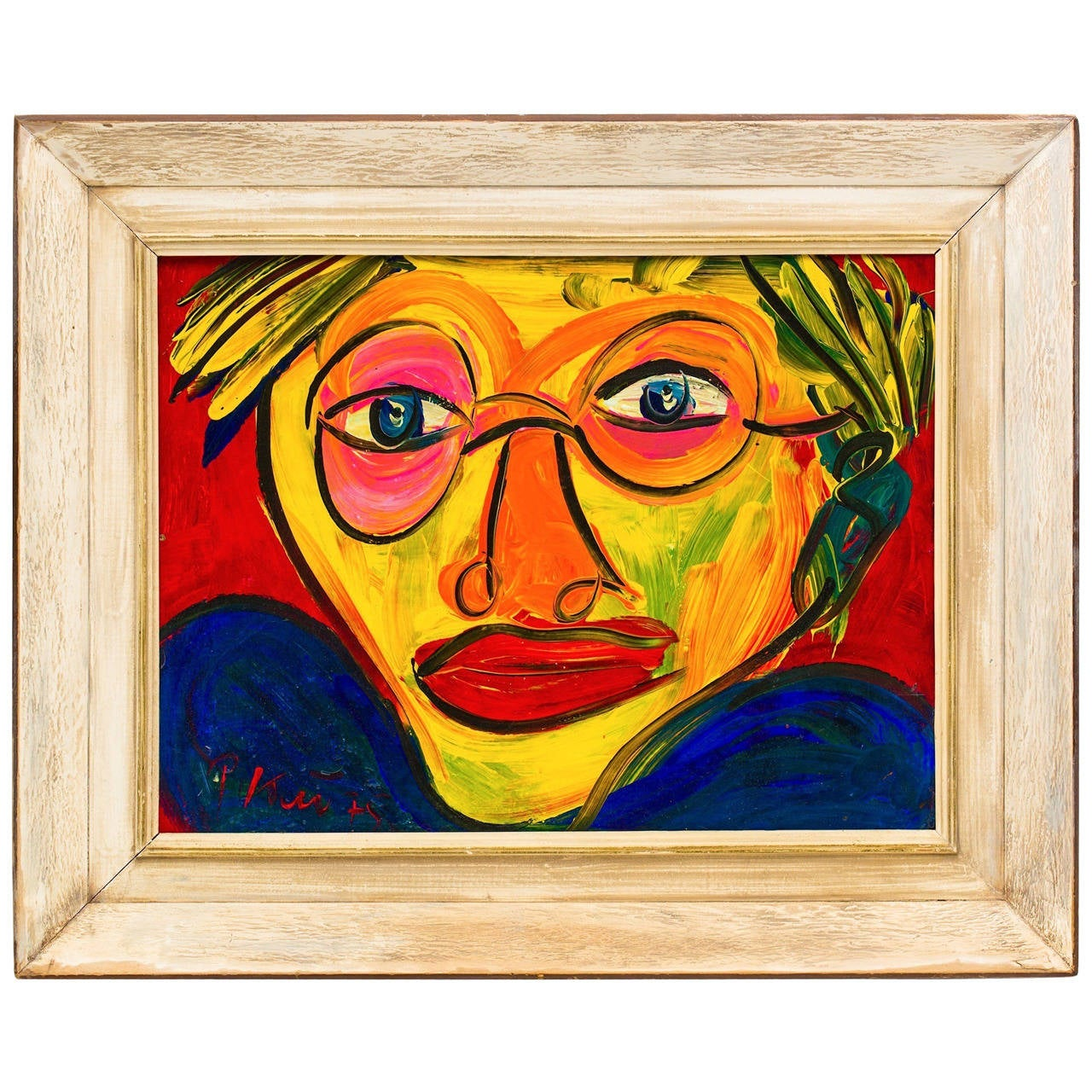 Portrait of Andy Warhol by Peter Keil at 1stdibs