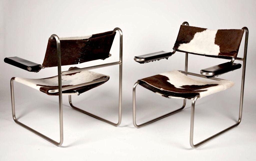 Original Bauhaus Furniture Pair of bauhaus tubular