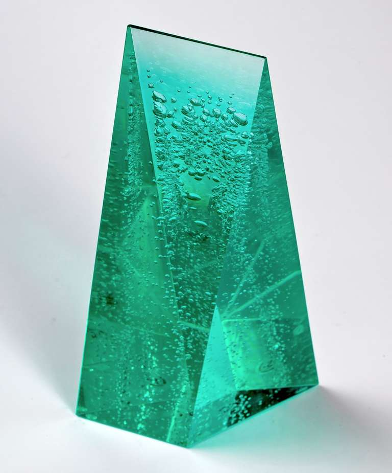 Norman Mercer Lucite Sculpture For Sale 2