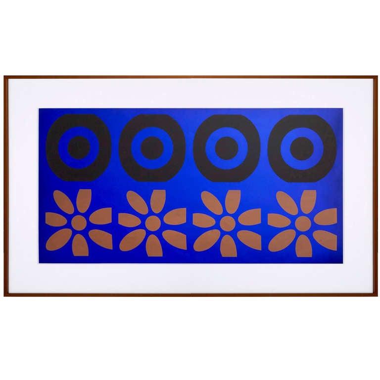 """Peter Gee Pop Art """"Target Panel"""" For Sale"""