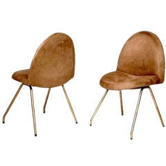 "Pair of Joseph-Andre Motte ""771"" Chairs for Steiner"