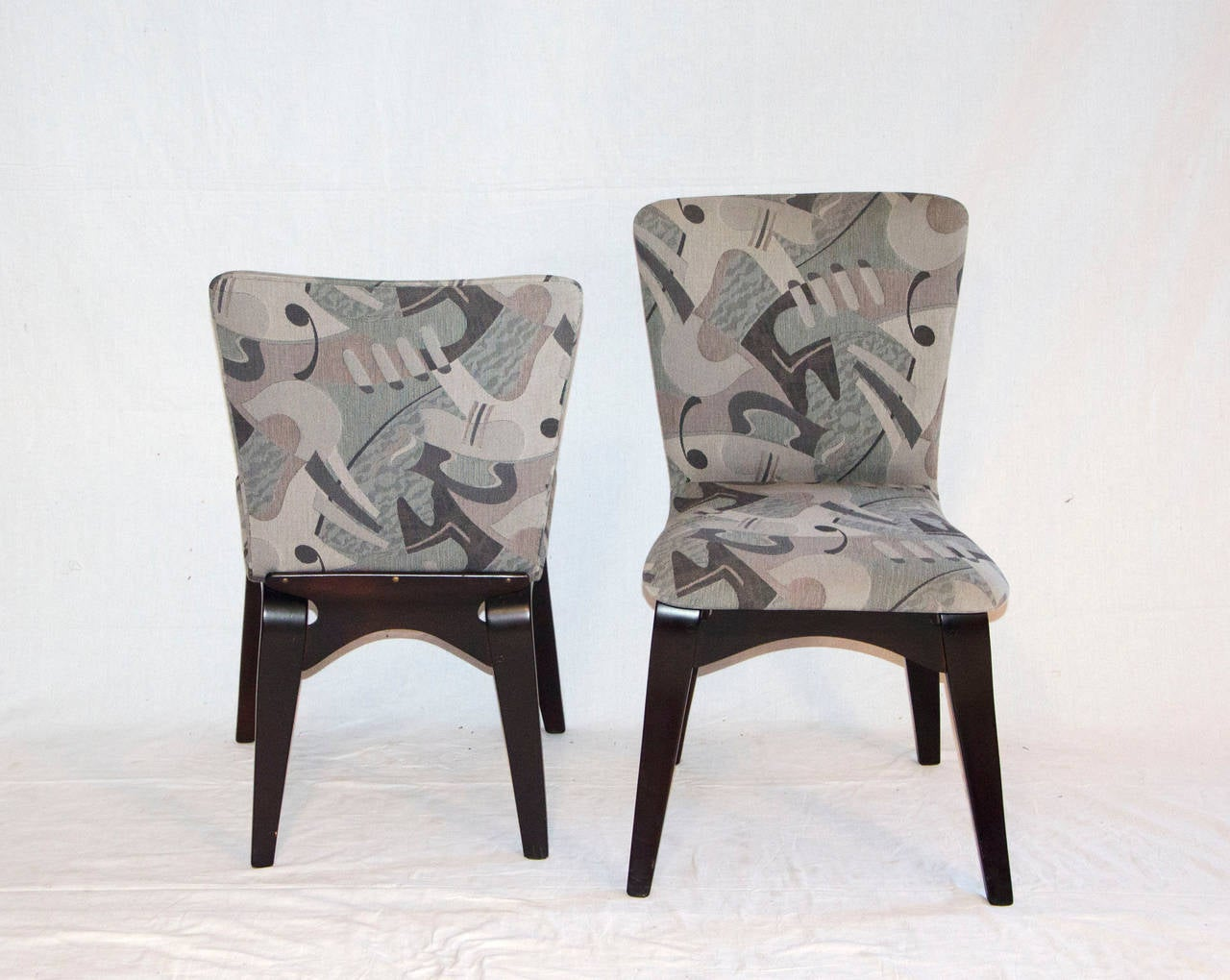 Mid Century Bent Ply Dining Chairs - Thaden-Jordan In Good Condition For Sale In Crockett, CA