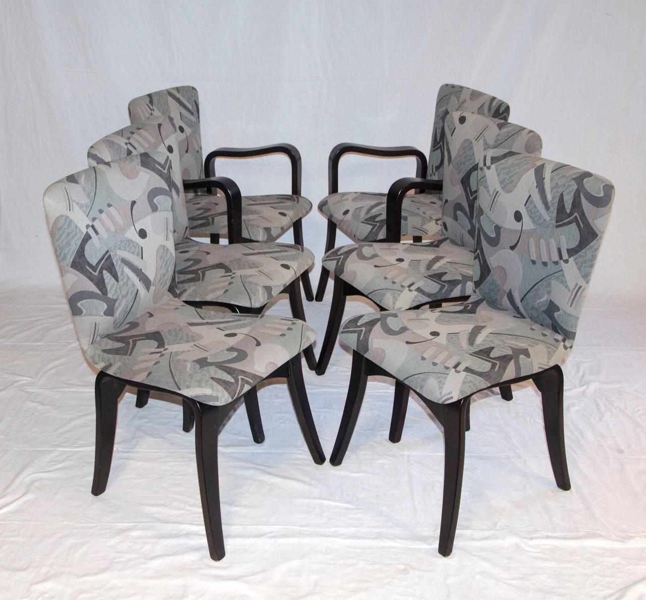 Mid Century Bent Ply Dining Chairs