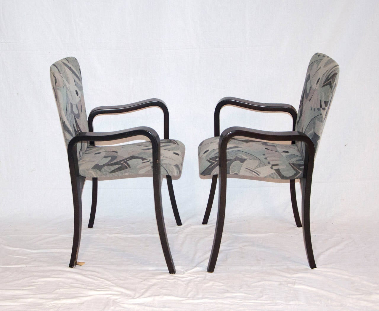 Mid Century Bent Ply Dining Chairs - Thaden-Jordan For Sale 1