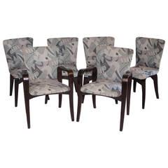Mid Century Bent Ply Dining Chairs - Thaden-Jordan