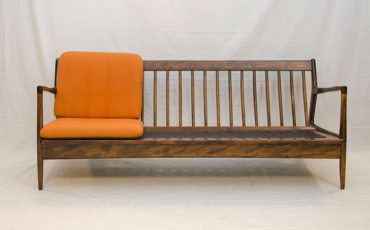 Delicieux Mid Century Modern Danish Sofa Frame   Ib Kofod Larsen For Sale