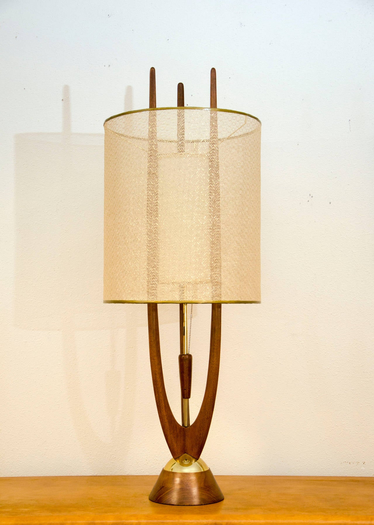 midcentury table lamp modeline at stdibs - midcentury table lamp modeline