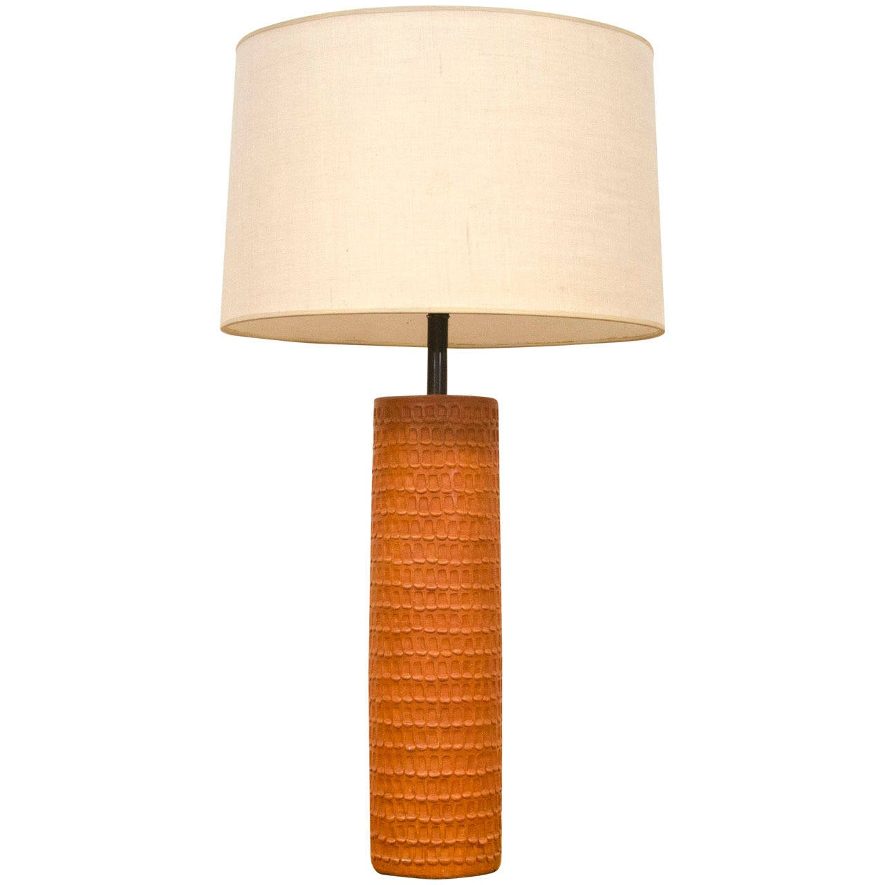 Mid Century Studio Pottery Table Lamp At 1stdibs