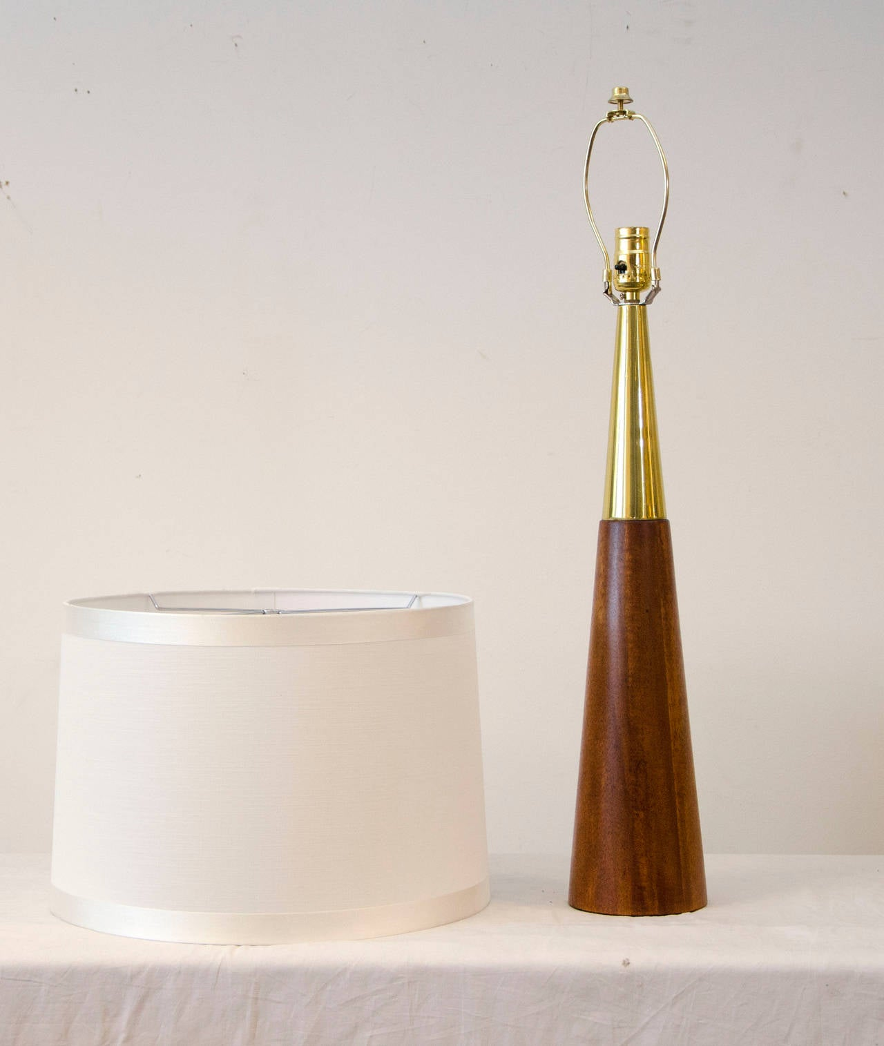 mid century table lamp in the style of tony paul at stdibs - mid century table lamp in the style of tony paul